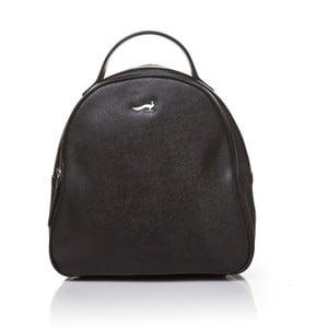 Skórzany plecak Marta Ponti Pavone, czarny