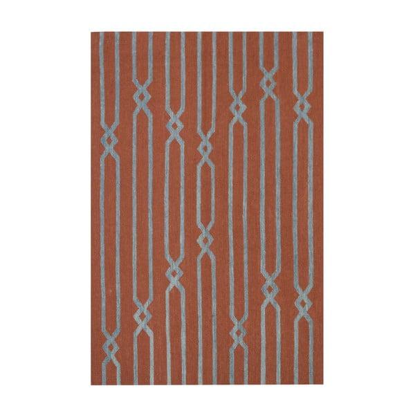 Dywan wełniany Kilim Modern 843, 120x180 cm