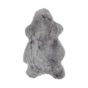 Szara skóra z krótkim włosiem Dotonna, 110x60cm