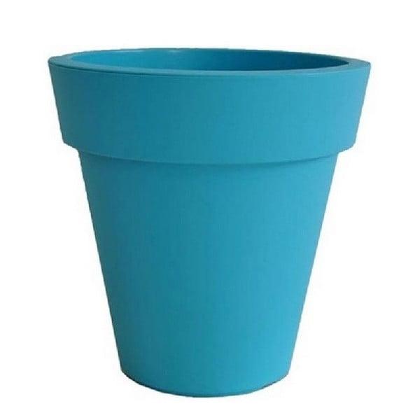 Doniczka Samantha 30x30 cm, niebieska