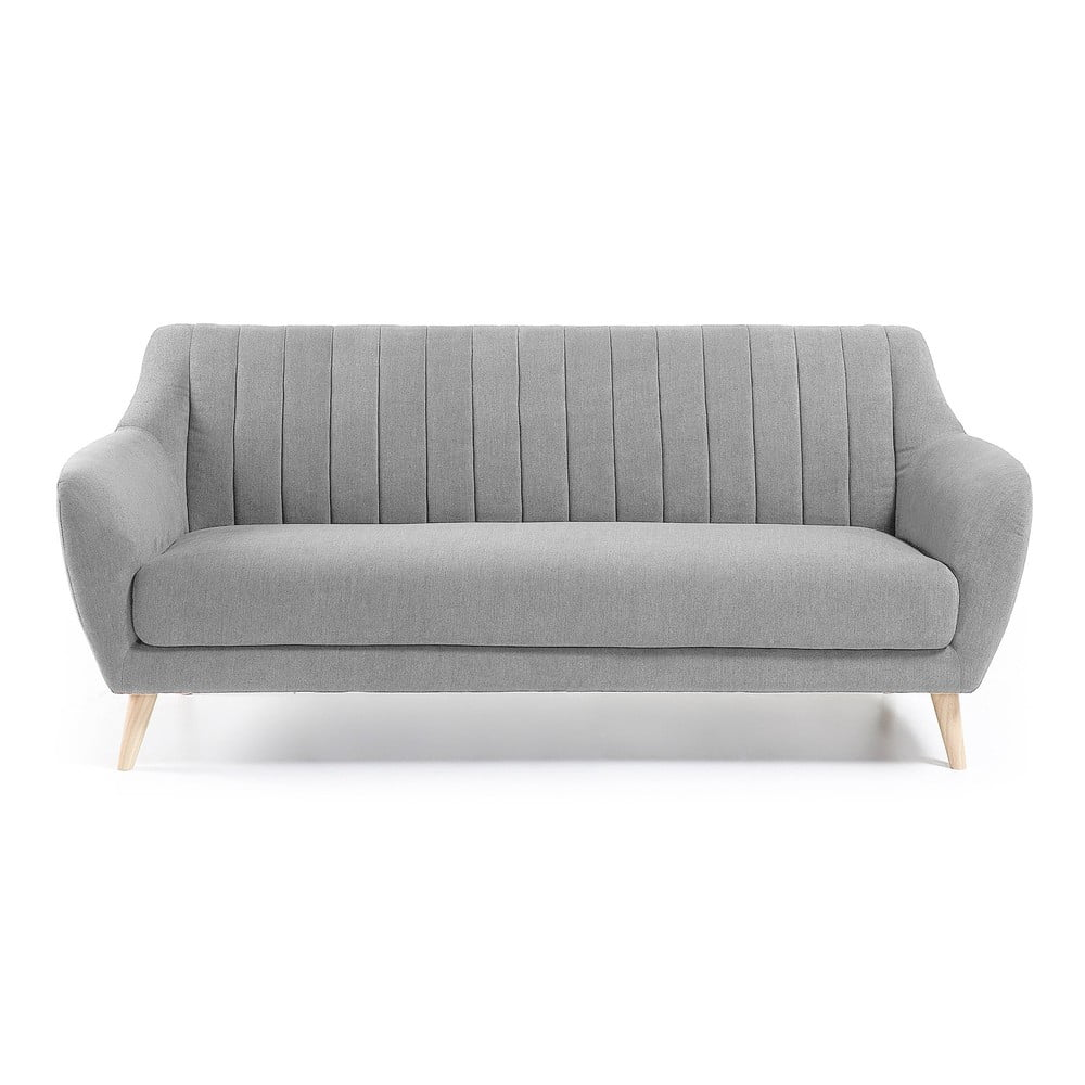Jasnoszara sofa La Forma Off