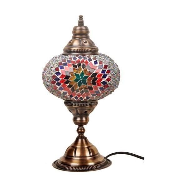 Szklana lampa Homemania Persefona, ⌀ 17 cm