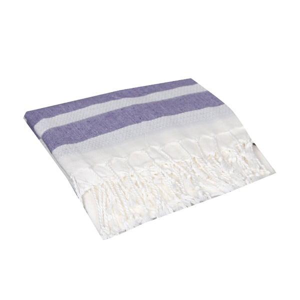 Ręcznik hammam Mimoza Purple, 90x190 cm