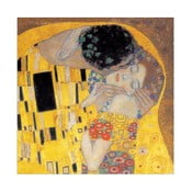 Obraz Gustav Klimt - Pocałunek (fragment), 30x30 cm