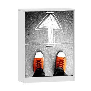 Szafka na buty z 2 uchylnymi drzwiami 13Casa Social Sneakers