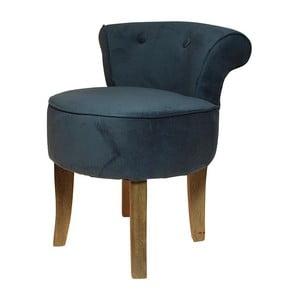 Fotel Velvet Blue