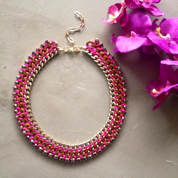 Naszyjnik Swarovski Spirit Bright Pink
