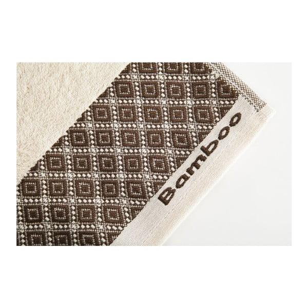 Zestaw 2 ręczników Bamboo Polo Ecru, 50x90 cm