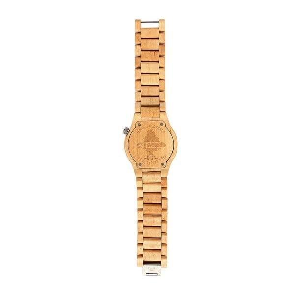 Drewniany zegarek Alpha Chocolate
