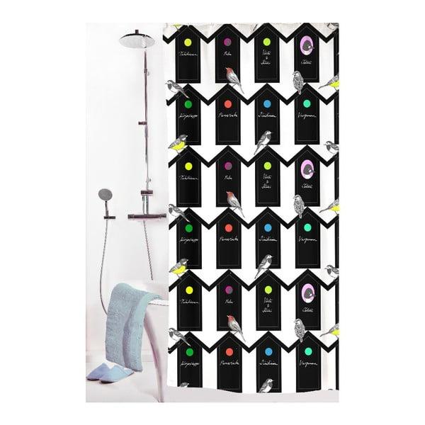 Zasłona prysznicowa Lintukoto, 180x200 cm