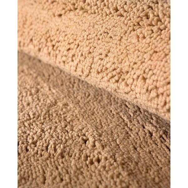 Dywan wełniany Pradera, 90x160 cm, beżowy