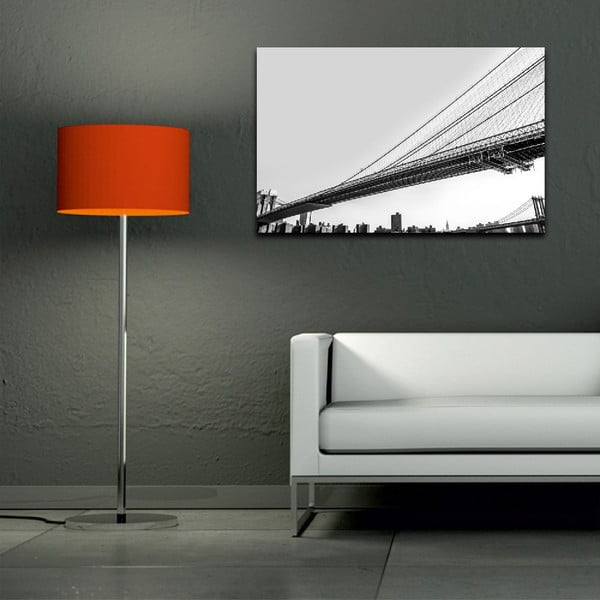 Obraz Black&White Bridge, 45x70 cm