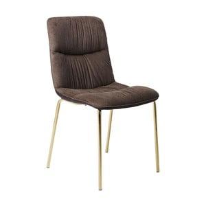 Ciemnobrązowe krzesło do jadalni Kare Design Vegas Forever