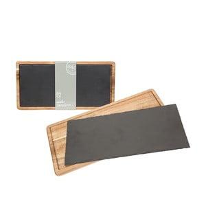 Łupkowa deska do serwowania Trivet, 40x20 cm