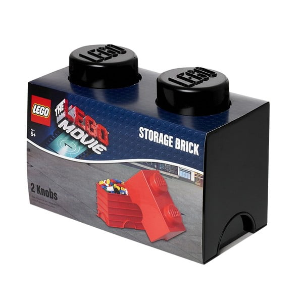 Pudełko Lego, czarne