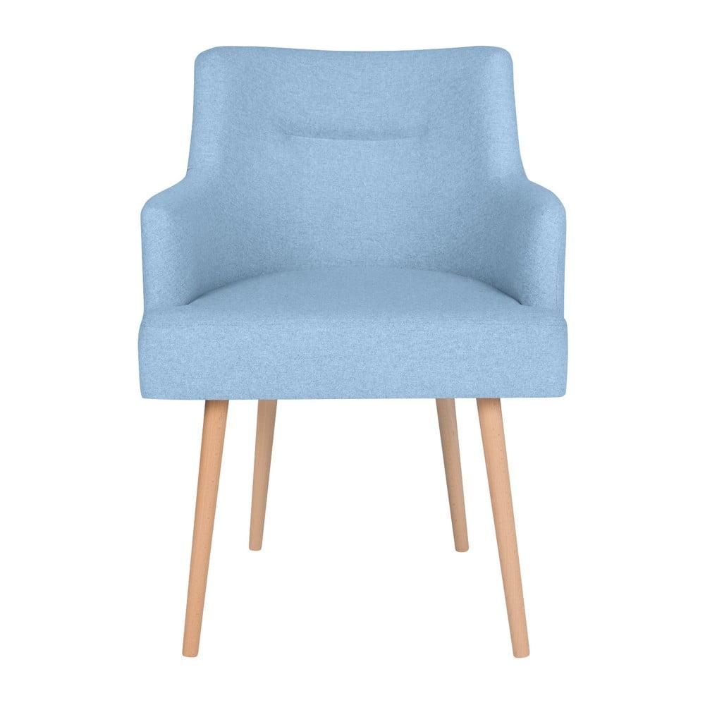 Jasnoniebieske krzesło do jadalni Cosmopolitan Design Venice