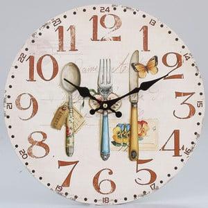 Drewniany zegar Culinaire