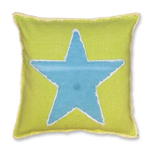 Poduszka Star 45x45 cm, limonkowy