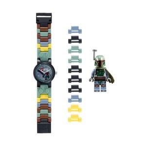 Zegarek z figurką LEGO® Star Wars Boba Fett