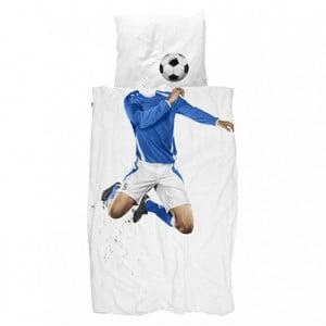 Pościel Snurk Soccer Champ Blue, 140 x 200 cm