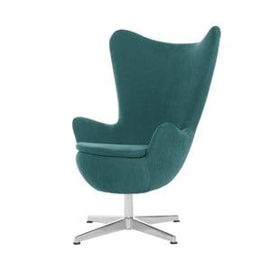 Turkusowy fotel obrotowy My Pop Design Vostell