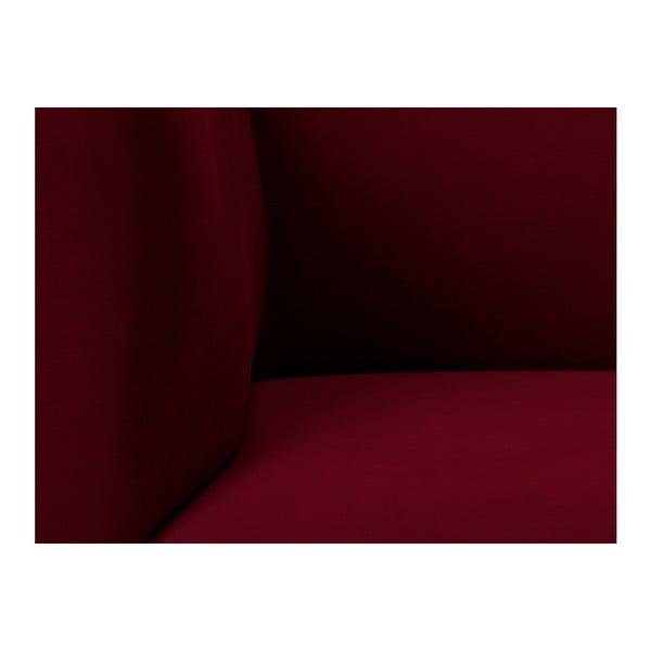 Czerwony aksamitny fotel Windsor & Co Sofas Neptune