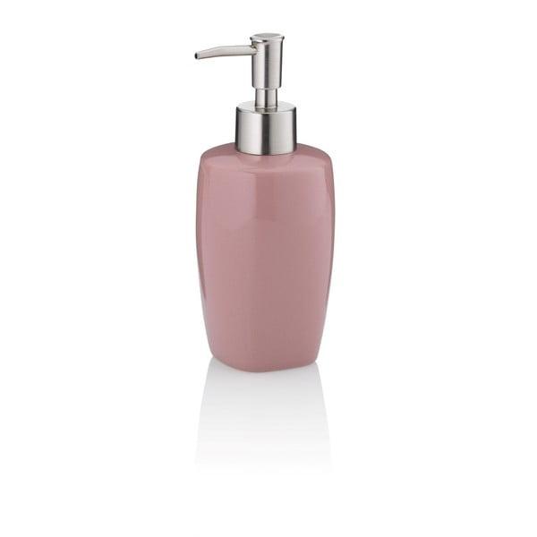 Różowy dozownik do mydła Kela Lindano