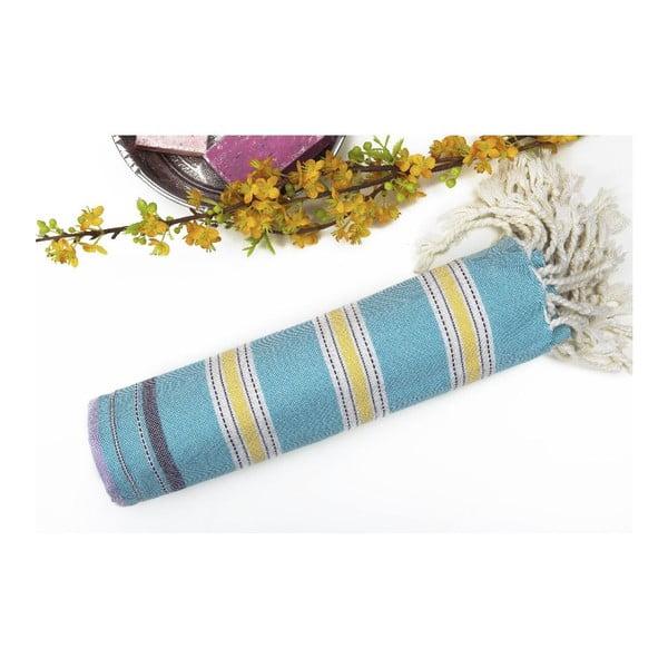 Ręcznik hammam Melange Colorful II, 95x175 cm