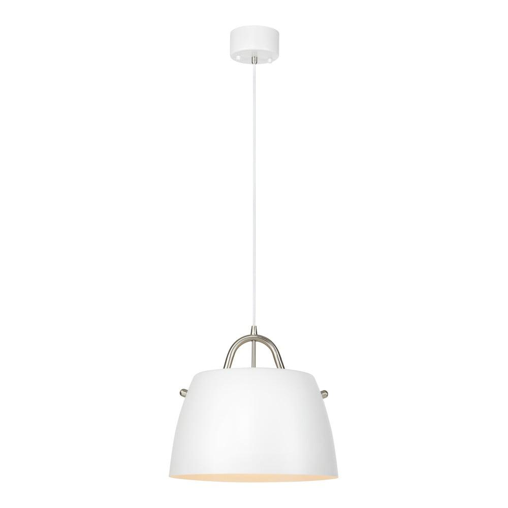 Biała lampa wisząca Markslöjd Spin Pendant White