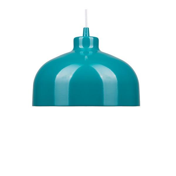Turkusowa lampa wisząca Loft You B&B, 22 cm