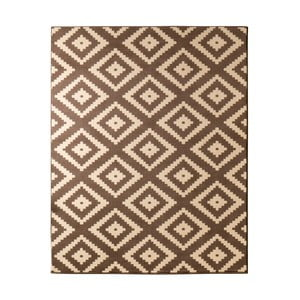 Dywan Hanse Home Hamla Diamond Brown, 80x200 cm