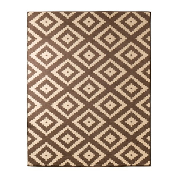 Dywan Hanse Home Hamla Diamond Brown, 80x300 cm