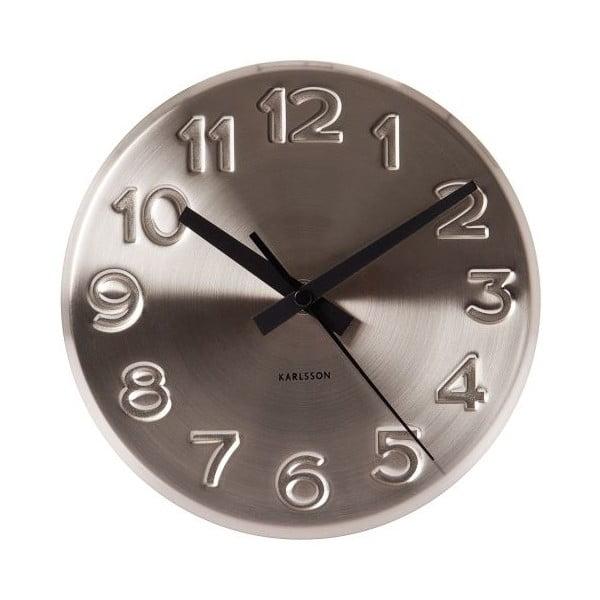Zegar ścienny Present Time Bold Engraved
