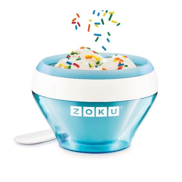 Niebieska maszynka do lodów Zoku Ice Cream
