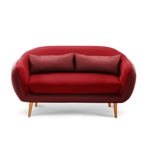 Sofa 3-osobowa Meteore Red/Red