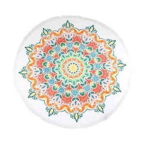 Okrągły ręcznik plażowy z bawełny ATMOSPHERE Martine, ⌀ 160 cm