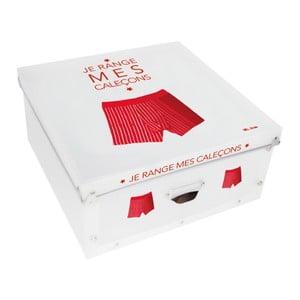 Pudełko na na bieliznę Me Caleçons