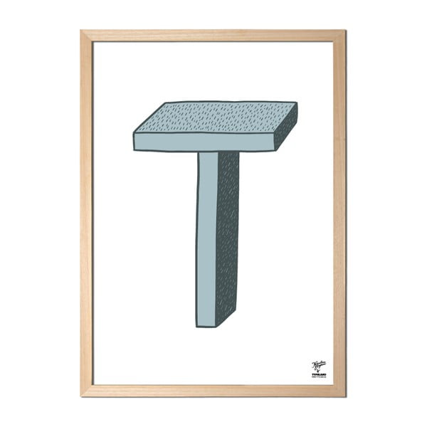 Plakat T designed by Karolina Stryková