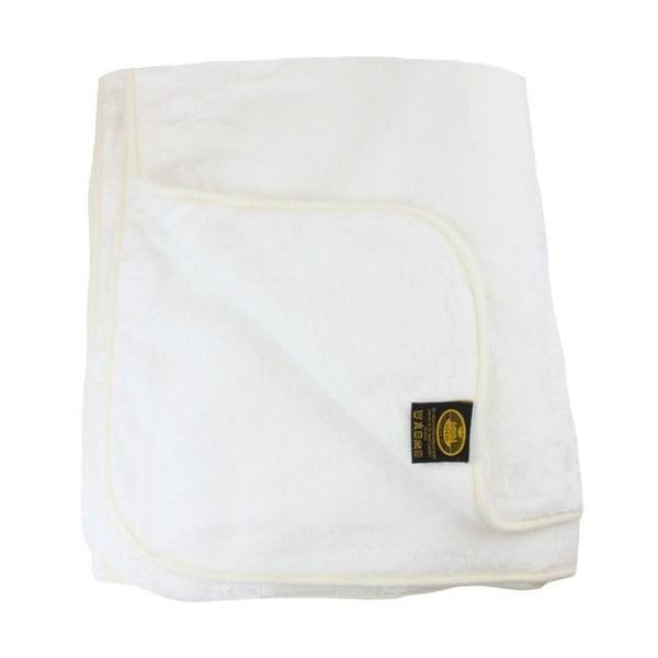 Koc Cashmere Feeling White, 130x170 cm