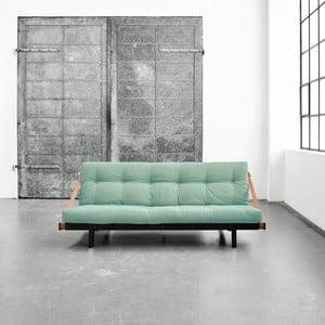 Wielofunkcyjna sofa Karup Jump Black/Peppermint
