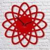 Zegar ścienny Red Elipse