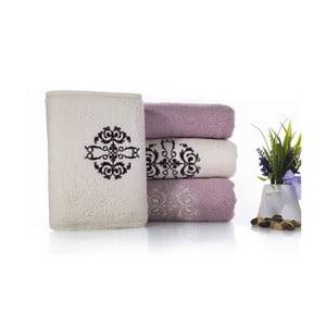 Zestaw 4 ręczników Crown V3, 50x100 cm + 70x150 cm