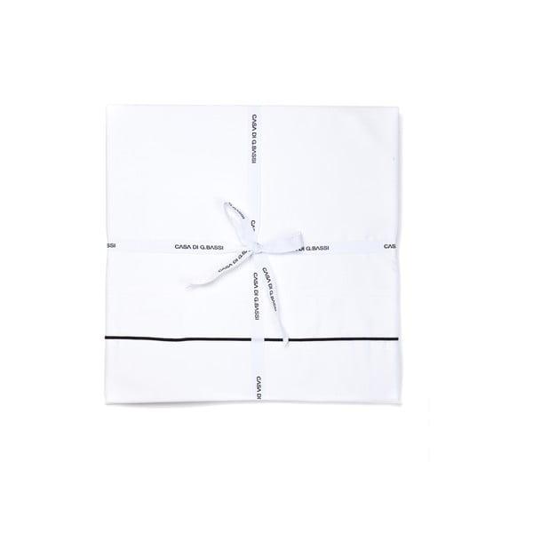 Poszwa na kołdrę Satin White, 140x200 cm