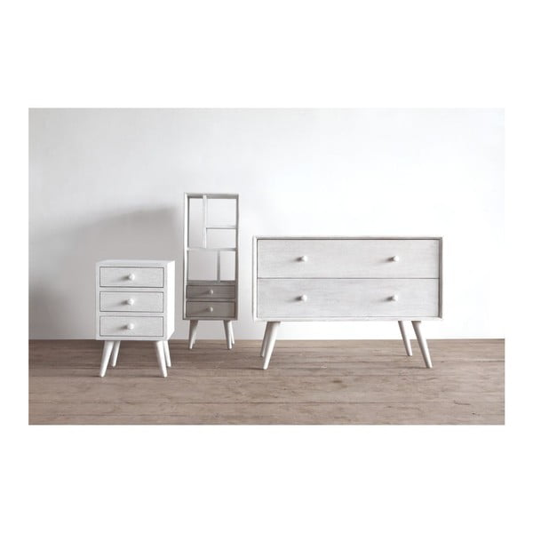 Komoda Preston Chest Rustic White