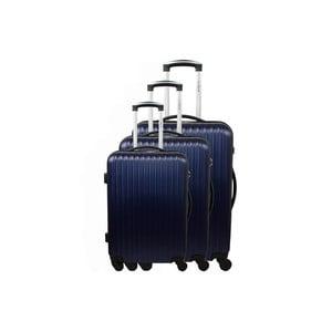 Zestaw 3 walizek Roues Cadenas Dark Blue, 105 l/72 l/40 l