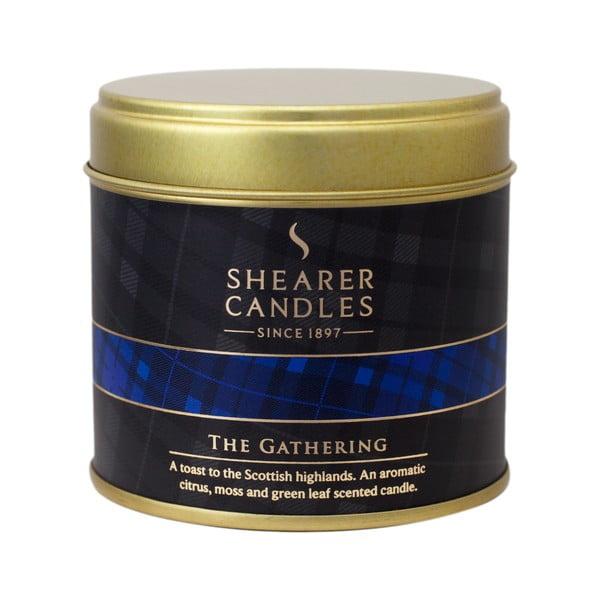 Świeczka zapachowa Shearer Candle 7 cm, cytrusy i mech
