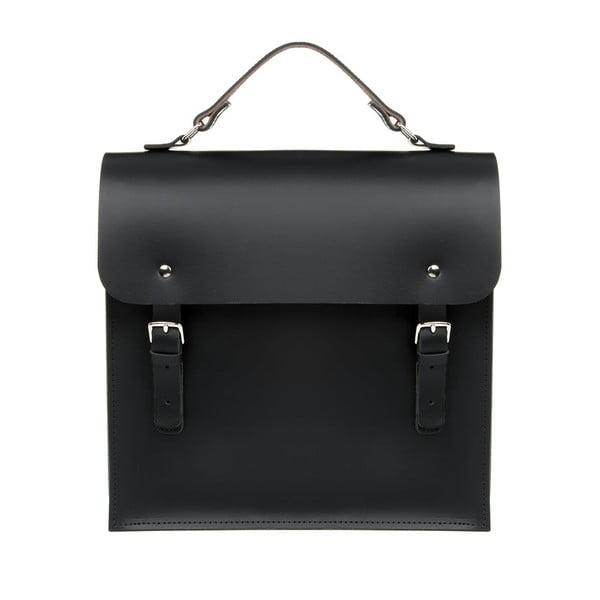 Skórzany plecak Morley Black/Chestnut
