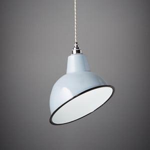 Lampa wisząca Angled Cloche Grey