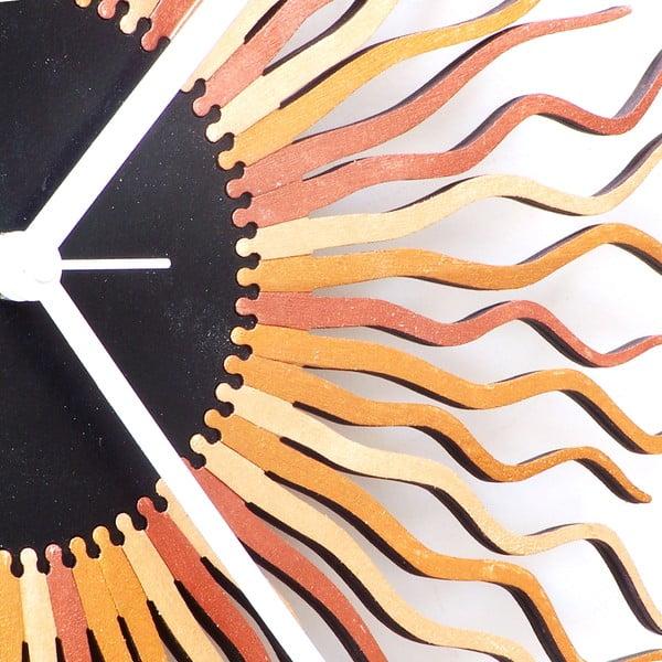 Zegar drewniany Medusa, 41 cm