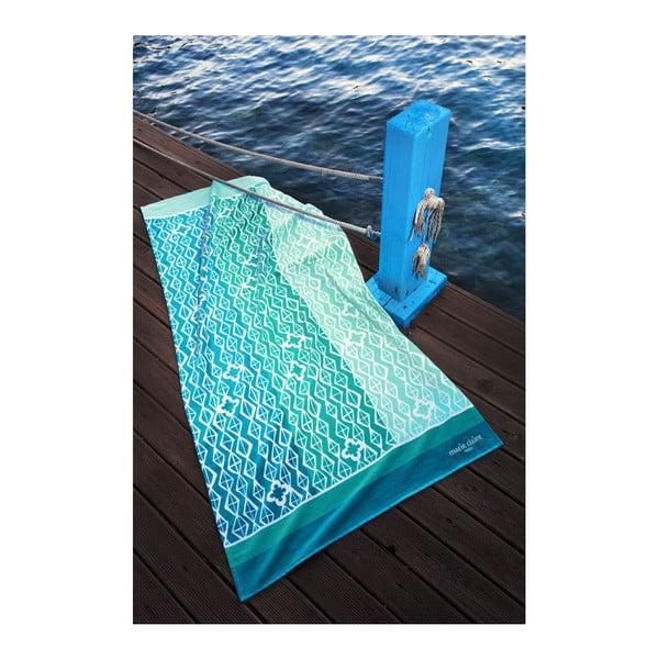 Ręcznik Blue Waves, 75x150 cm